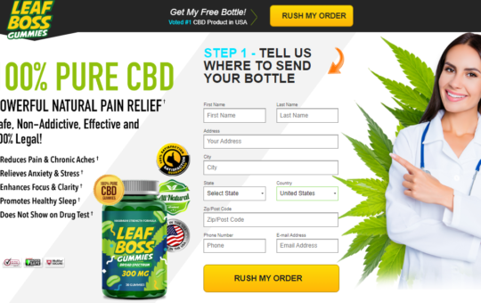 Leaf Boss CBD Gummies Reviews: How Does It Work Or Scam?